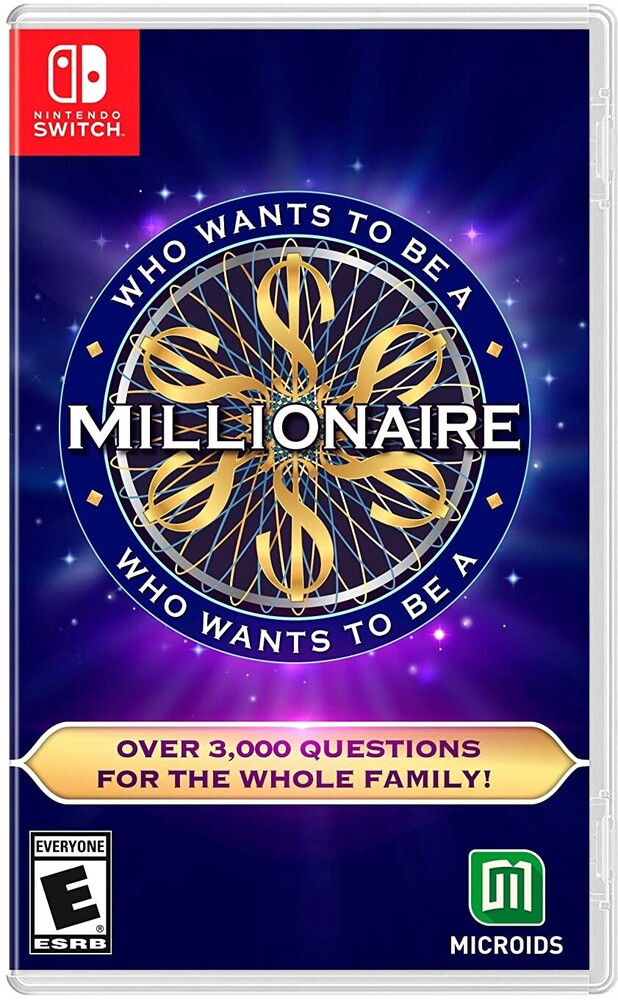 Swi Who Wants to Be a Millionaire - Who Wants to be a Millionaire for Nintendo Switch