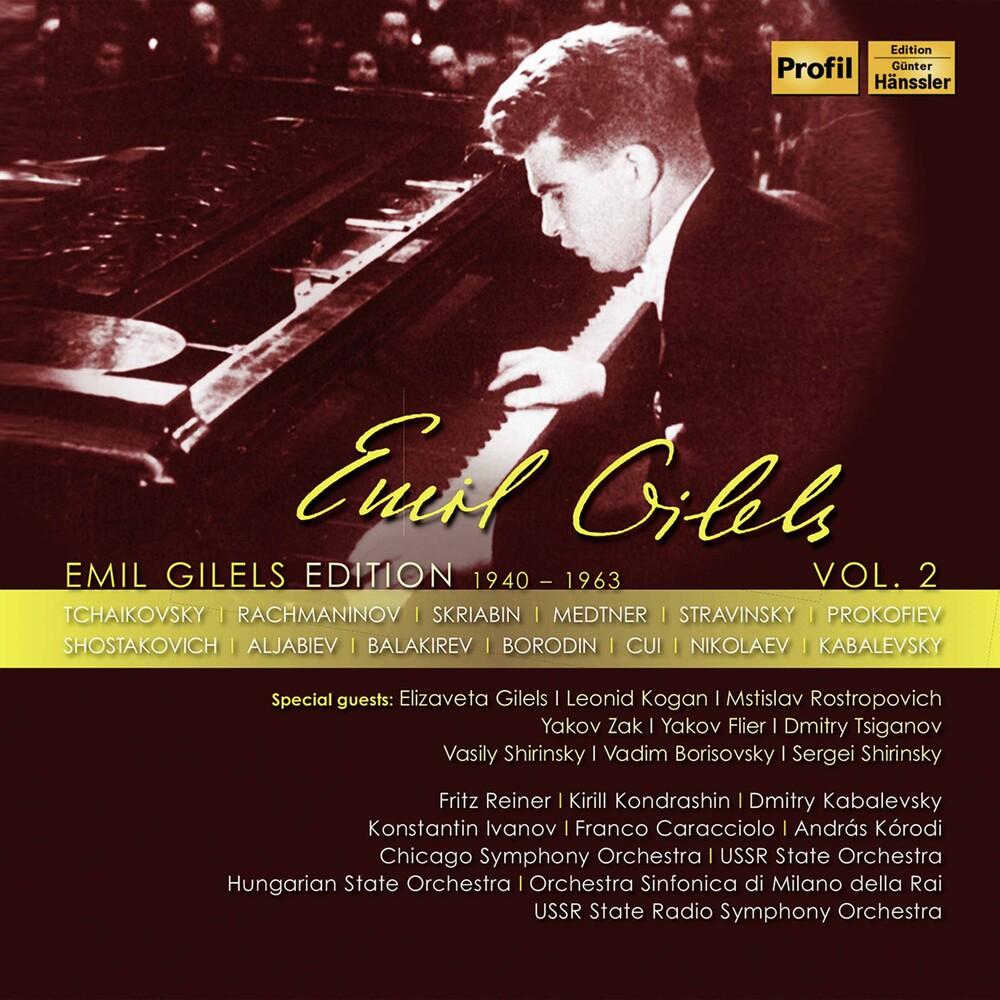 Franco Caracciolo - Emil Gilels Edition 2 (Box)