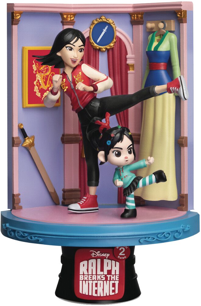 Beast Kingdom - Beast Kingdom - Wreck-It Ralph 2 DS-054 Mulan D-Stage Series 6 Statue
