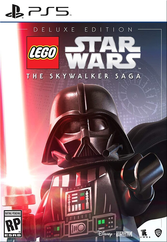 - LEGO Star Wars: The Skywalker Saga - Deluxe Edition for PlayStation 5