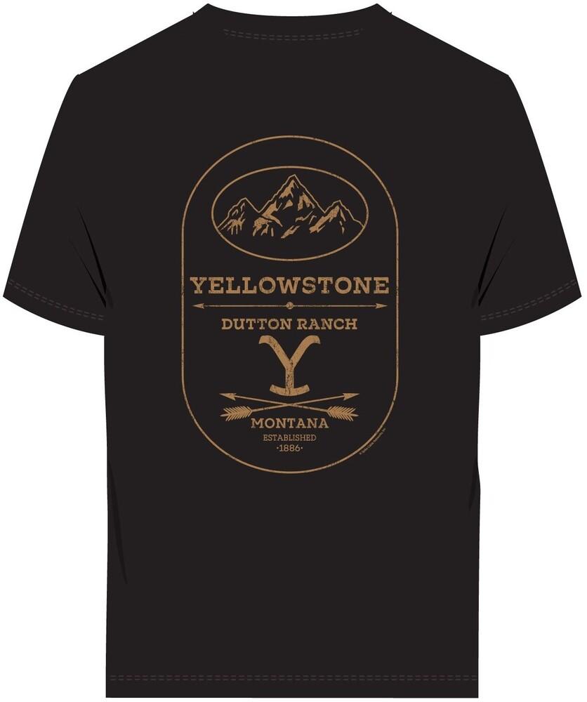Yellowstone Dutton Ranch Montana Ss Tee 3Xl - Yellowstone Dutton Ranch Montana Ss Tee 3xl