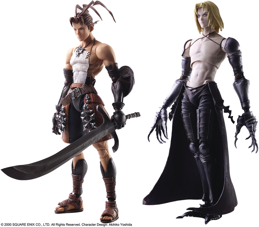 Square Enix - Square Enix - Vagrant Story Bring Arts Ashley Riot & Sydney LosstarotAction Figure