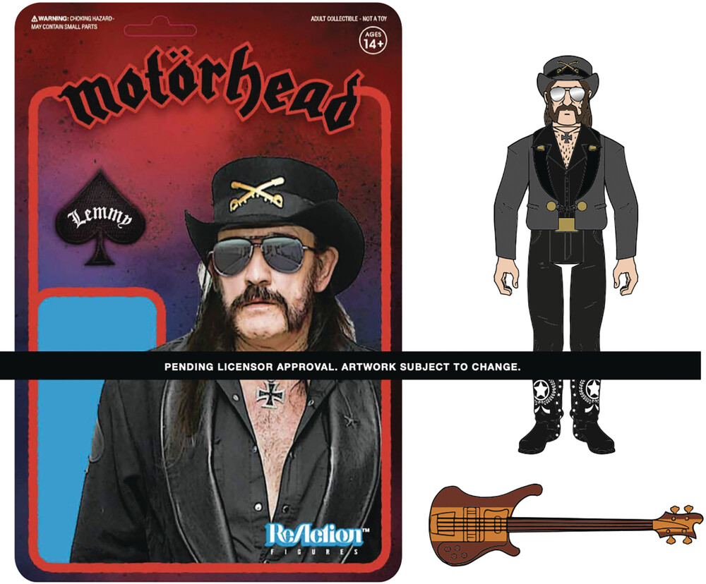 Motorhead Reaction Figure - Lemmy Modern Cowboy - Motorhead Reaction Figure - Lemmy Modern Cowboy