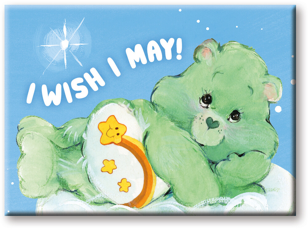Care Bears Wish Bear 2.5 X 3.5 Flat Magnet - Care Bears Wish Bear 2.5 X 3.5 Flat Magnet