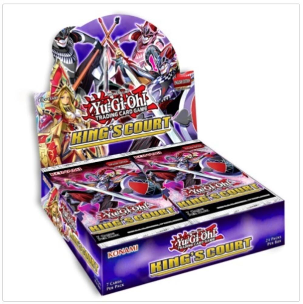 - Yu-Gi-Oh! King's Court Booster - Display