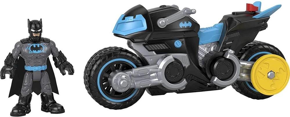 Imaginext Dc Super Friends - Fisher Price - Imaginext DC Super Friends Bat Tech Batcycle (DCSF)