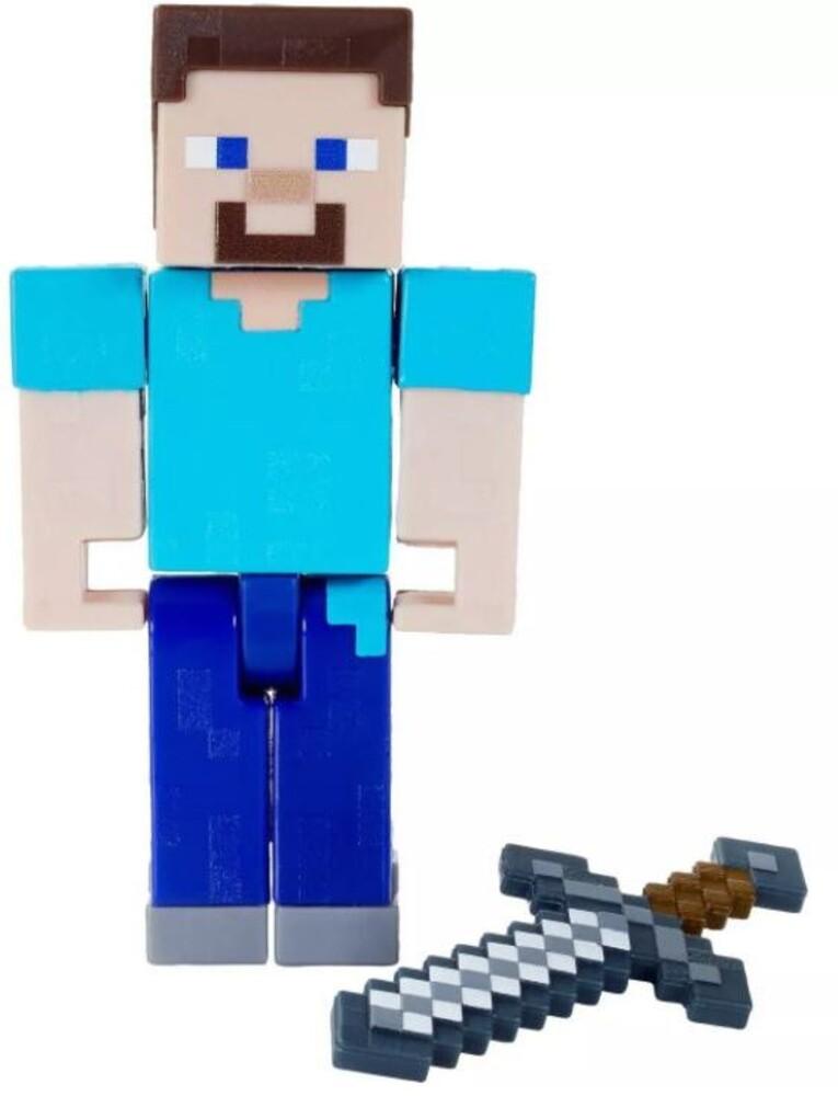 - Mattel Collectible - Minecraft 3.25 Steve