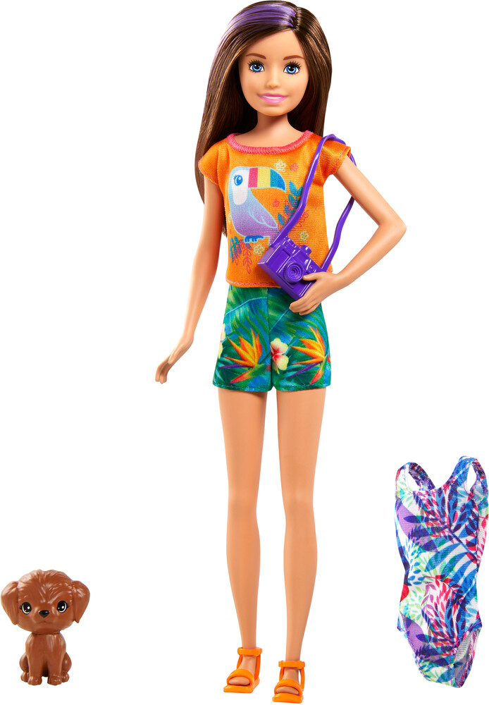 Barbie - Mattel - Barbie Chelsea The Lost Birthday Skipper and Pet