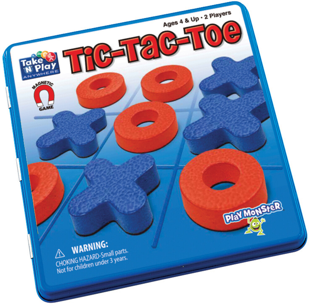 - Take N Play Anywhere Tic Tac Toe Magnetic Game