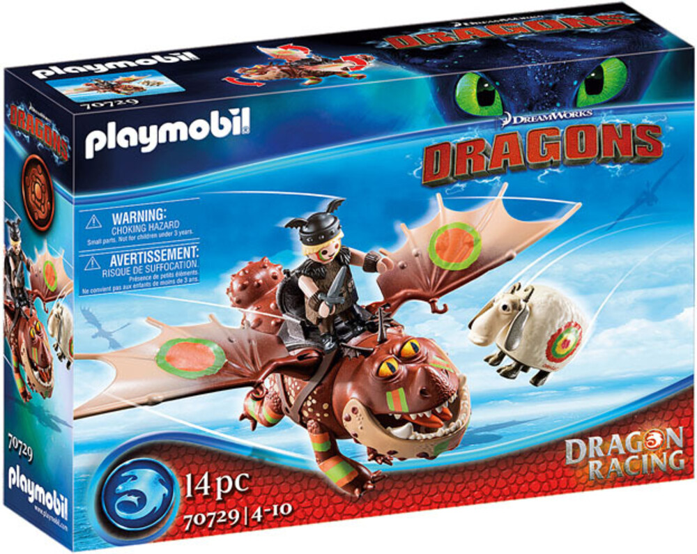 - Dragon Racing Fishlegs And Meatlug (Fig)