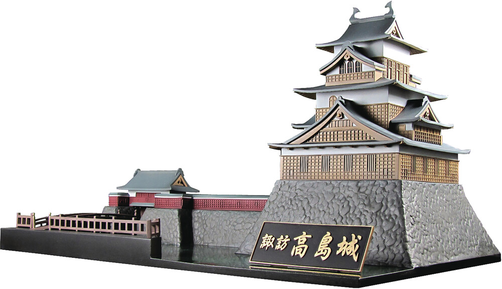 - Castle Collection Suwa Takashima Castle Plastic Md