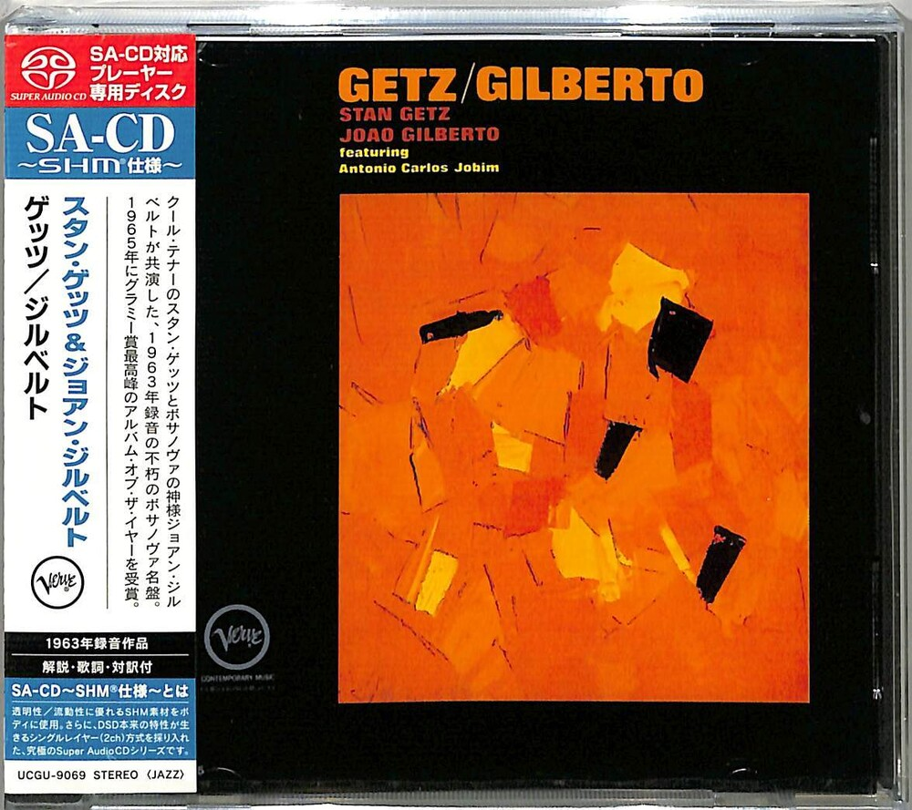 Stan Getz  / Gilberto,Joao - Getz / Gilberto (Shm) (Jpn)