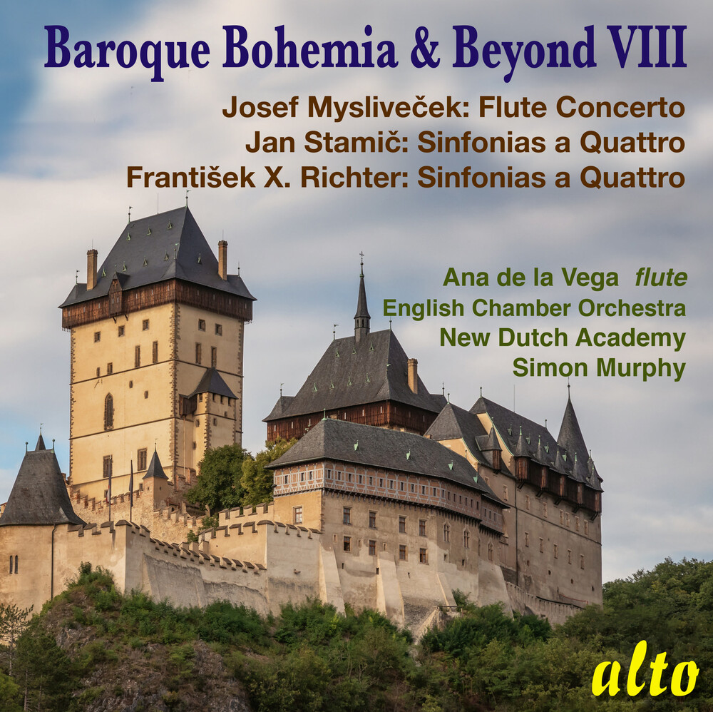 New Dutch Academy / Simon Murphy  / Eco - Baroque Bohemia & Beyond Viii (Stamic Richter)