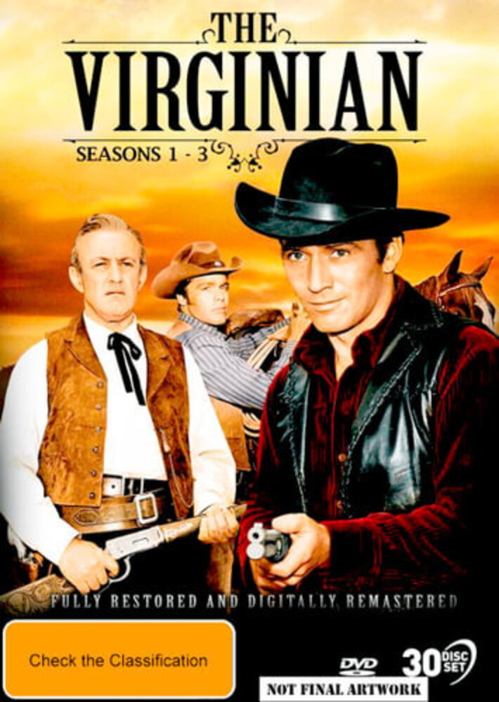 Gary Clark - Virginian: Seasons 1-3 (30pc) / (Aus Ntr0)