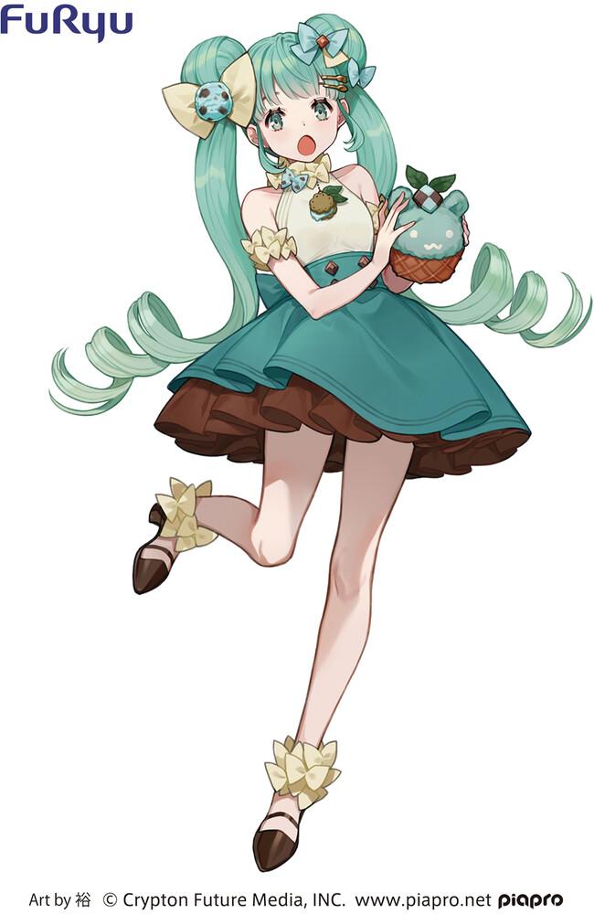 - Hatsune Miku Sweetsweets Series Fig Chocolate Mint