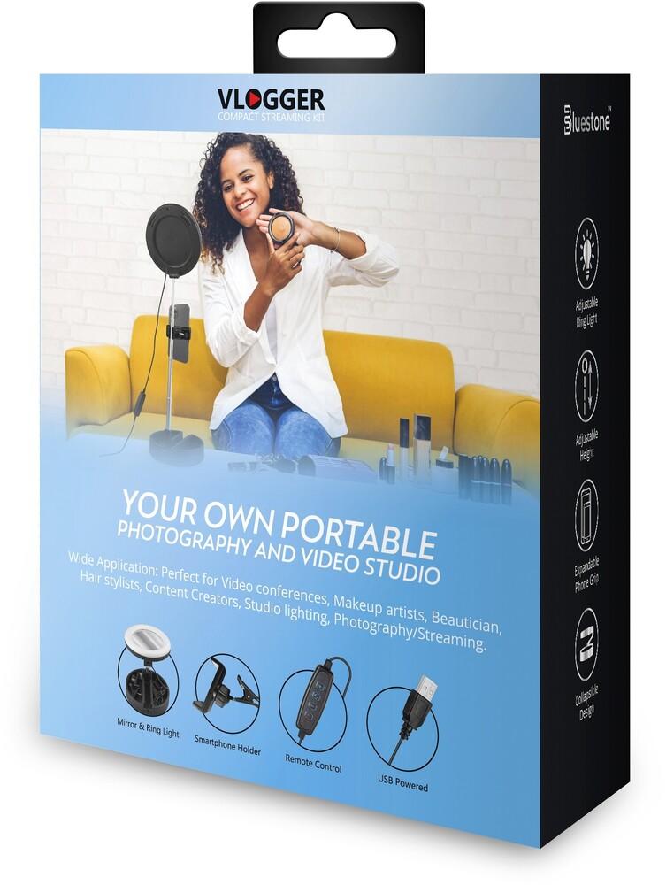 - Bluestone Sk14bk Vlogger Compact Kit W/Foldable Cs