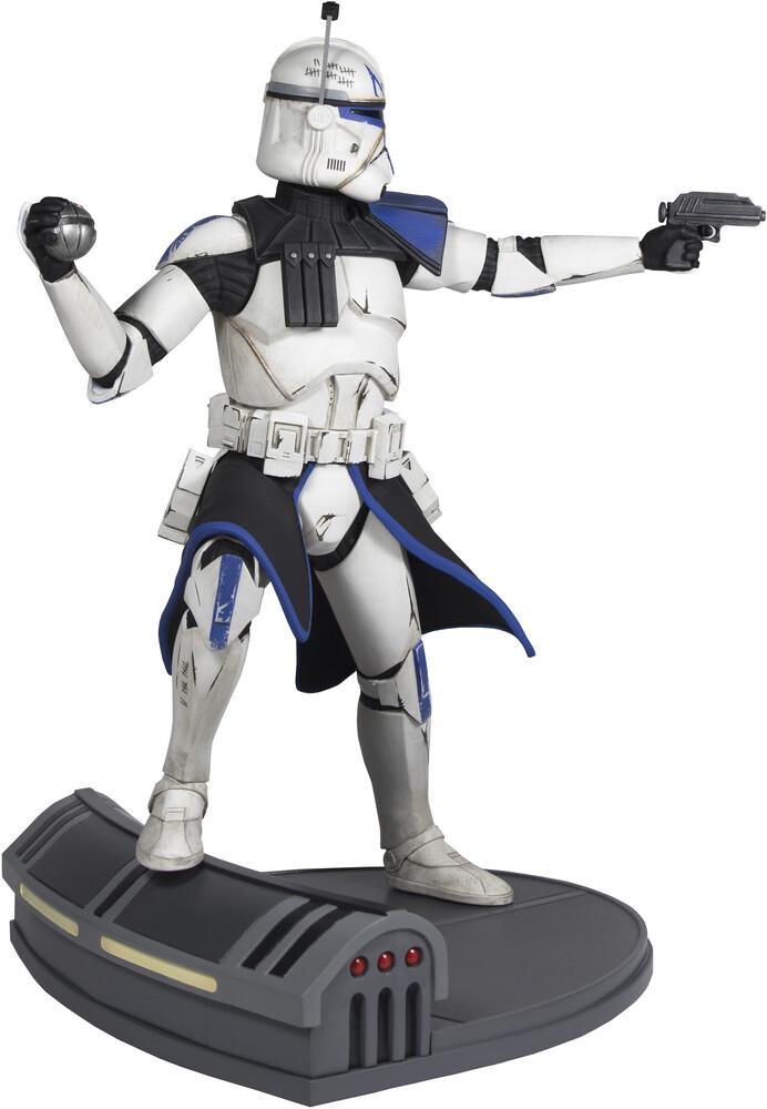 Diamond Select - Star Wars Premier Collection Clone Wars Rex Statue