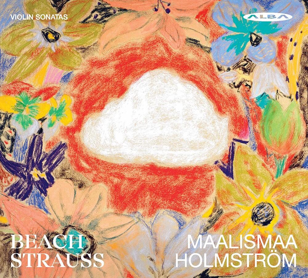 Strauss / Maalismaa / Holmstrom - Violin Sonatas