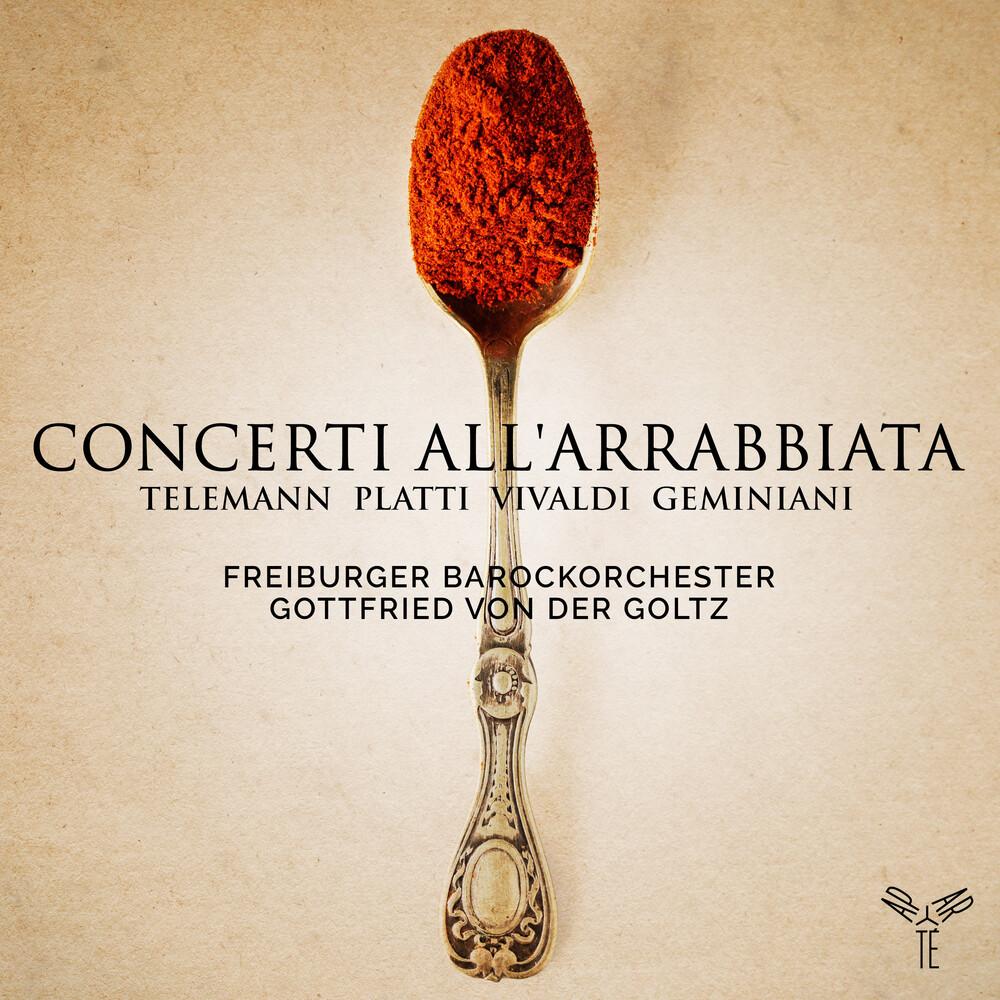 Freiburger Barockorchester - Telemann Platti Vivaldi & Geminiani: Concerti