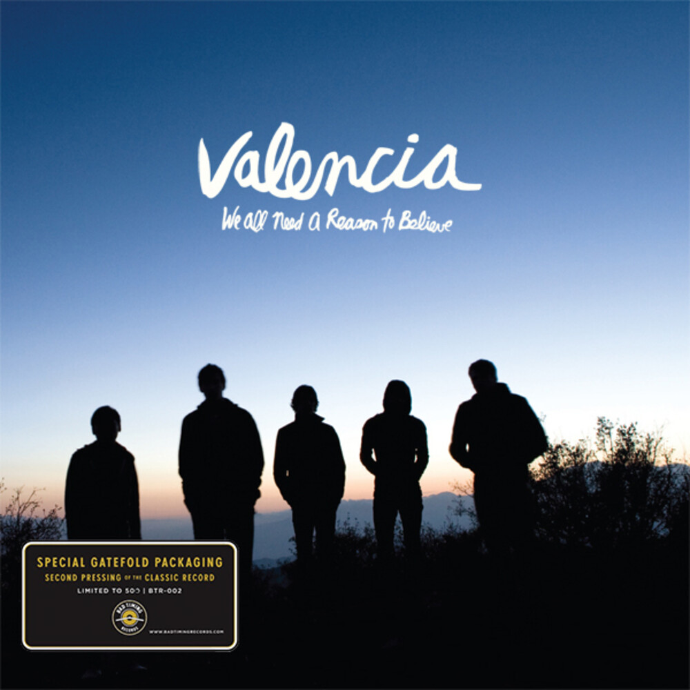 Valencia - We All Need a Reason to Believe (Blue & White Galaxy)