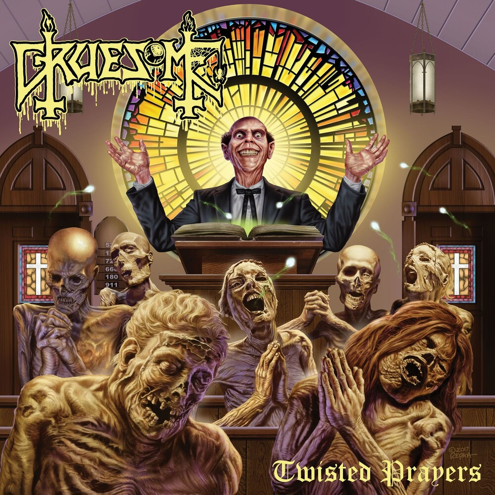 Gruesome - Twisted Prayers [Indie Exclusive Limited Edition Easter Yellow LP]