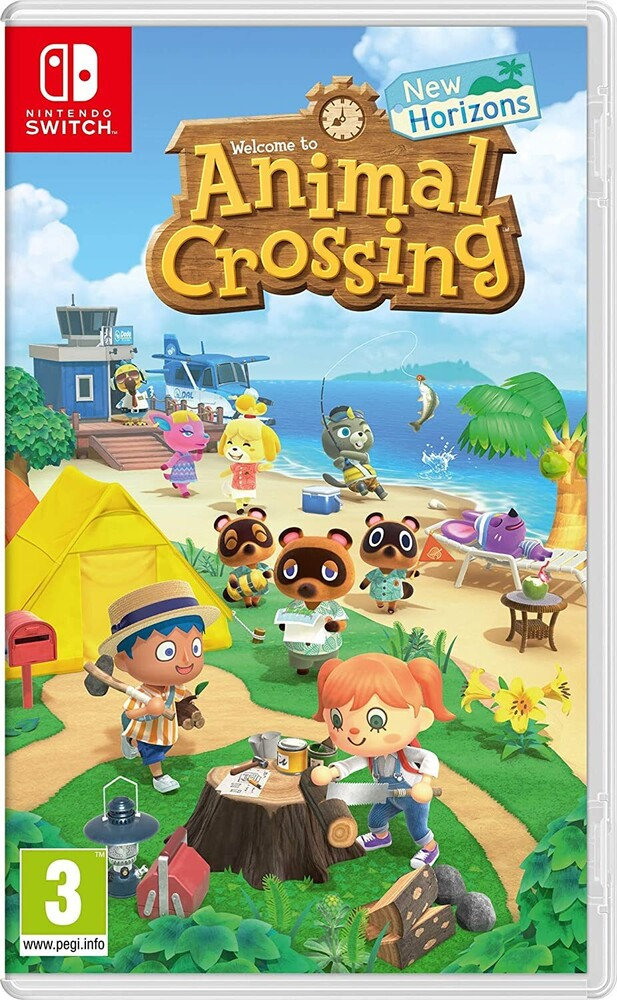 Swi Animal Crossing: New Horizons - Animal Crossing: New Horizons for Nintendo Switch