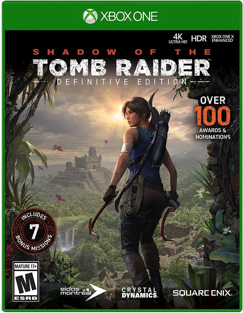 Xb1 Shadow of the Tomb Raider Definitive Edition - Shadow of The Tomb Raider: Definitive Edition for Xbox One