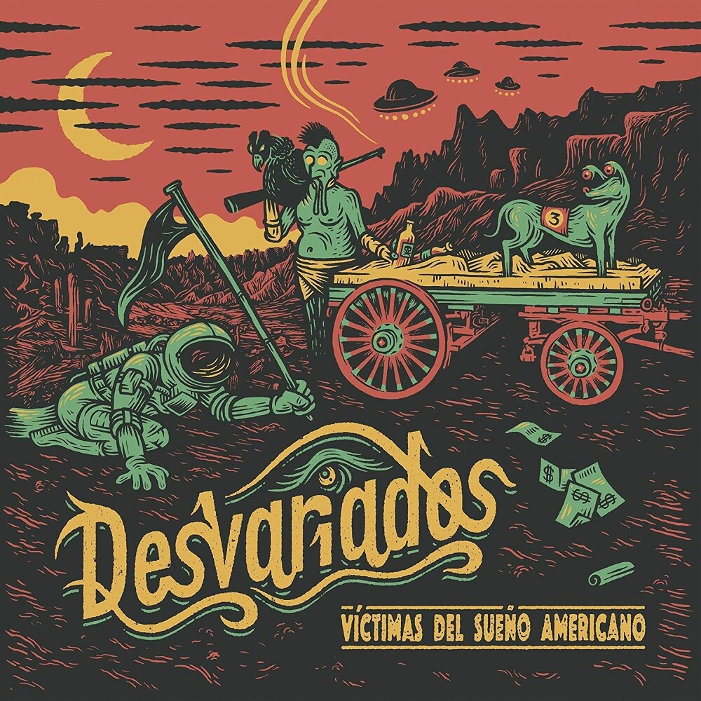 Desvariados - Victimas Del Sueno Americano (W/Cd) (Spa)