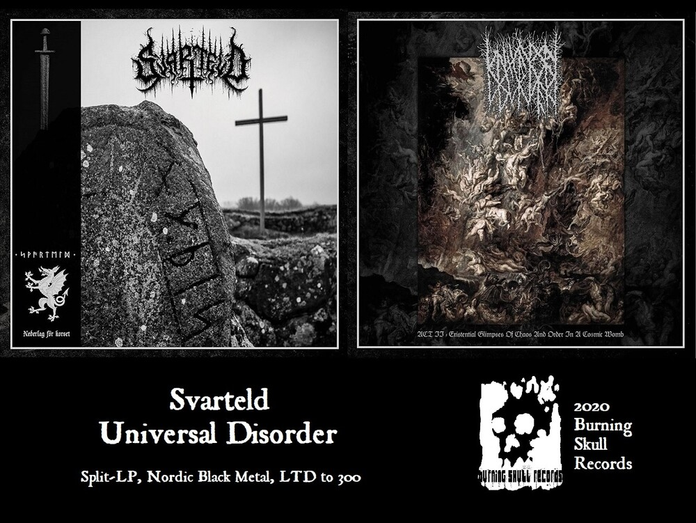Svarteld / Universal Disorder - Svarteld / Universal Disorder