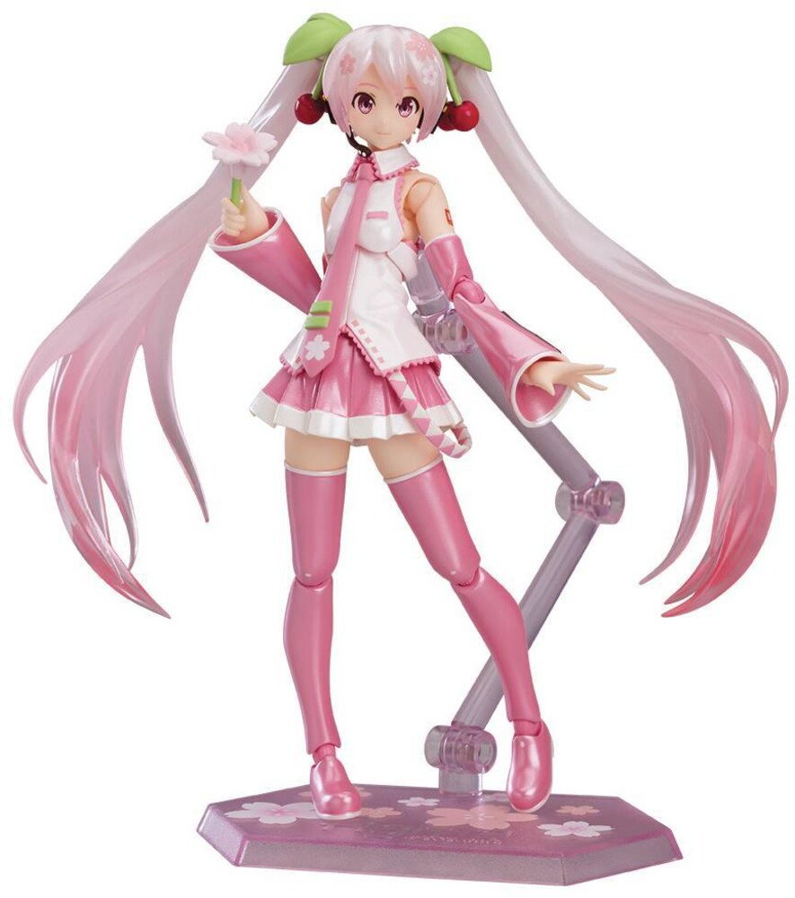 Good Smile Company - Good Smile Company - Character Vocal Ser 01 Sakura Miku FiguremaAction Figure
