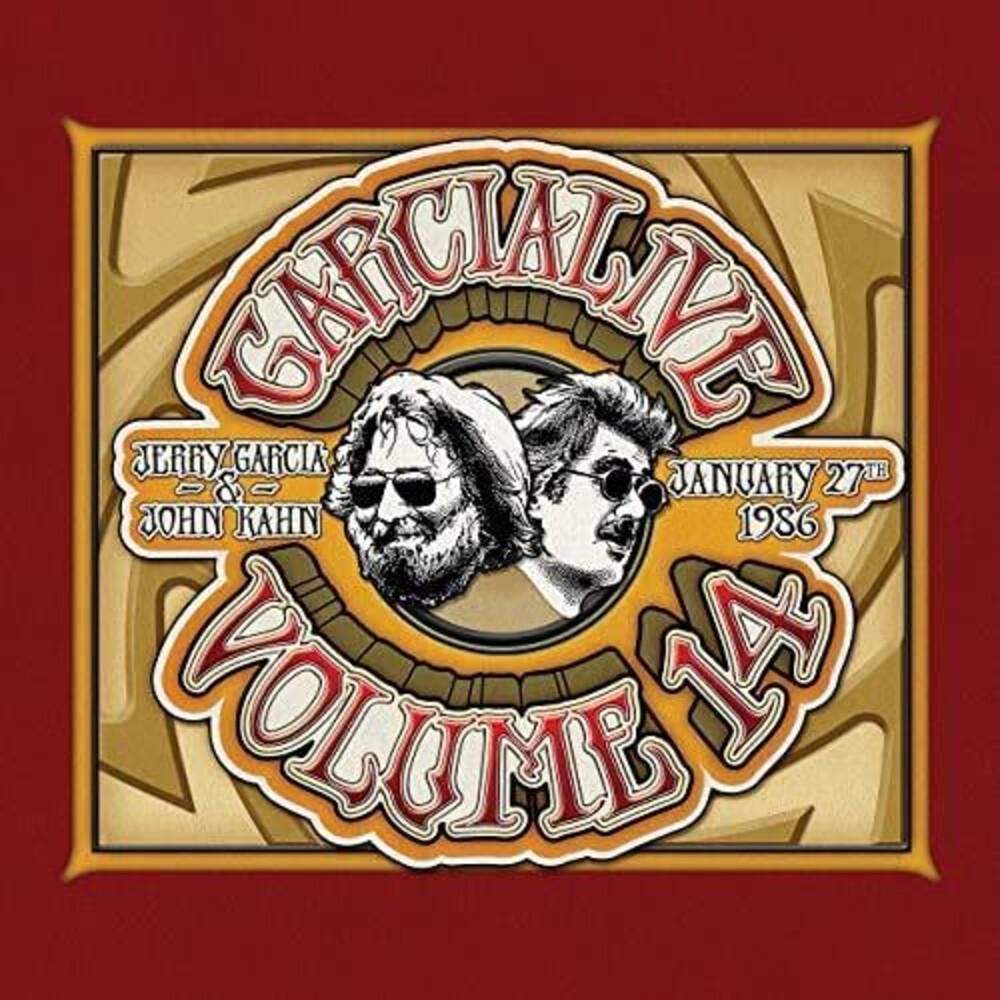 Jerry Garcia & John Kahn - GarciaLive Volume 14: January 27th, 1986 The Ritz [LP]
