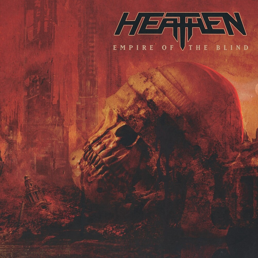 Heathen - Empire Of The Blind [Red & Black Swirl 2LP]