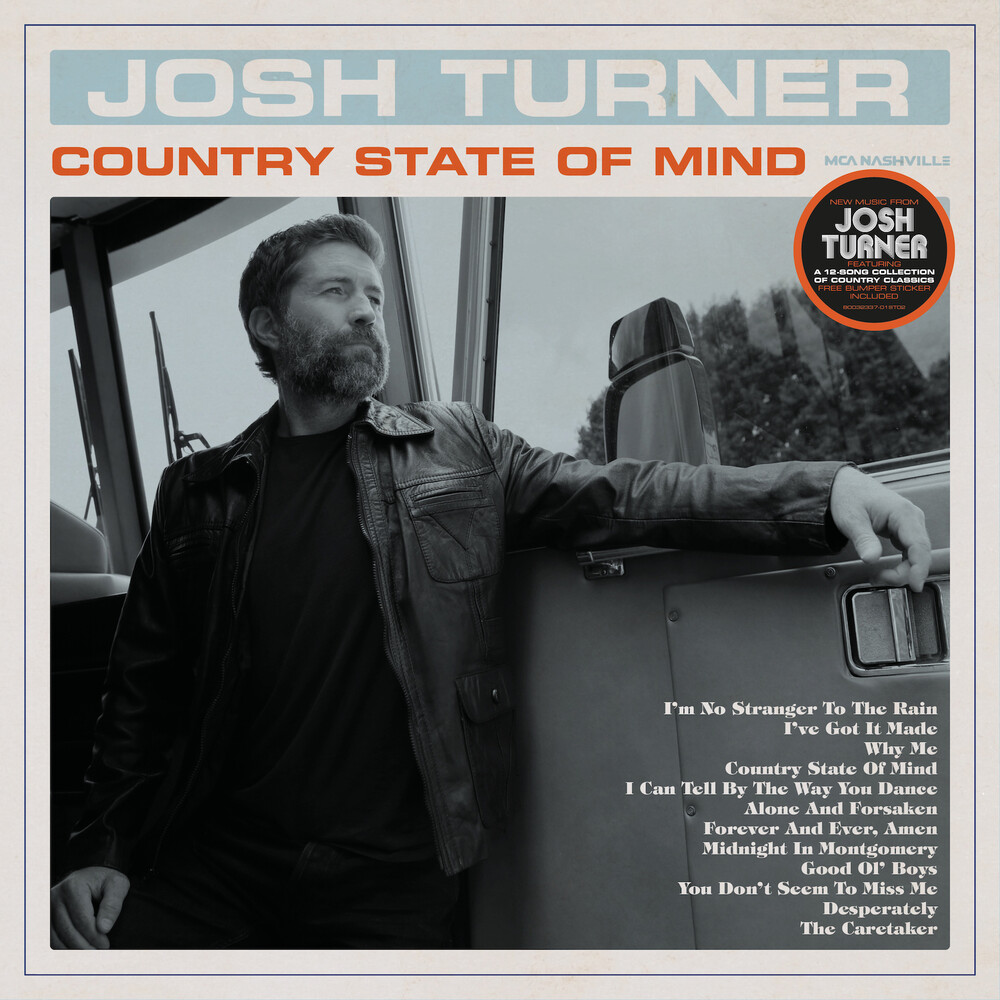Josh Turner - Country State Of Mind [LP+Bumper Sticker]