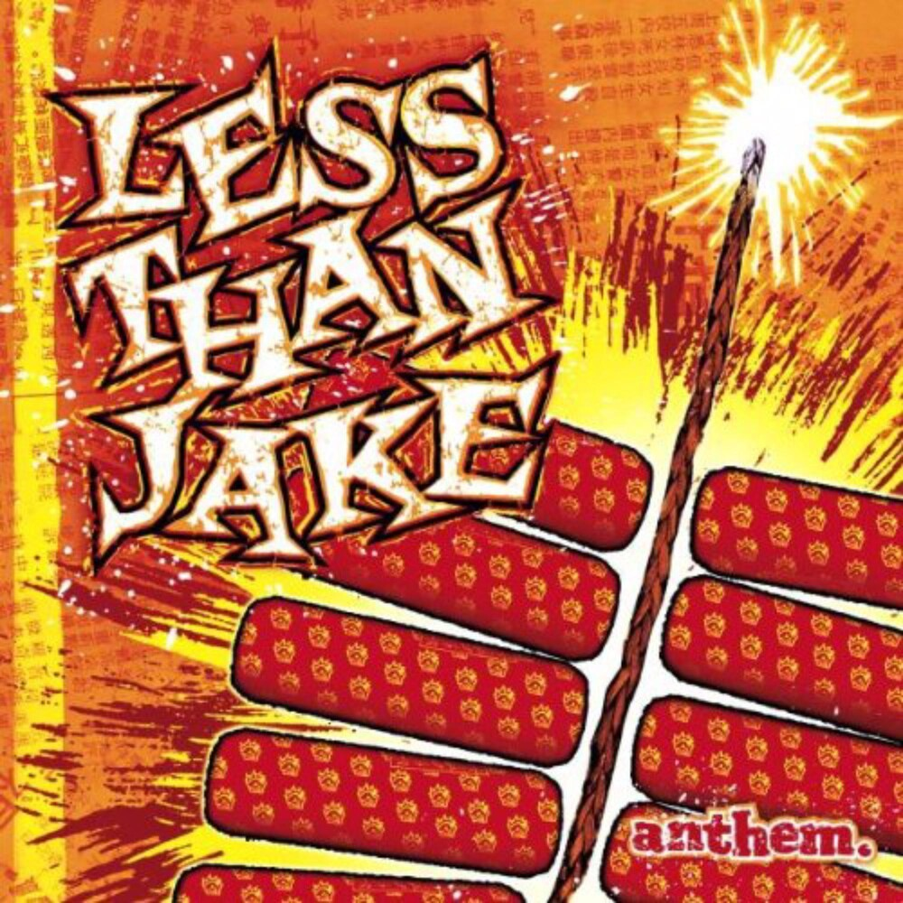 Less Than Jake - Anthem [Yellow/Red LP]