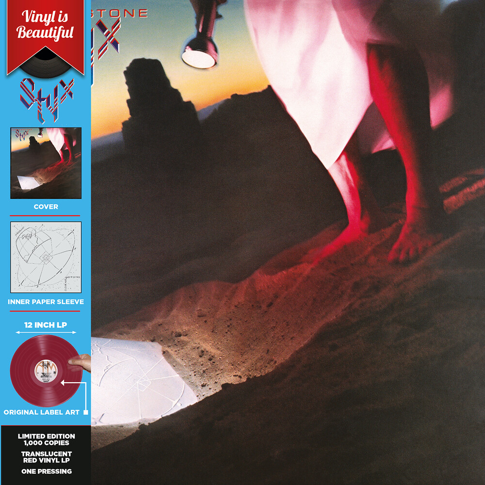 Styx - Cornerstone (Red Translucent Vinyl)