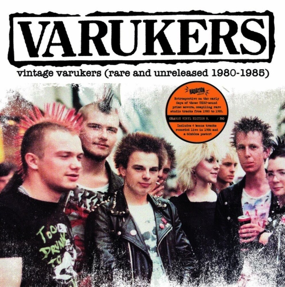 Varukers - Vintage Varukers