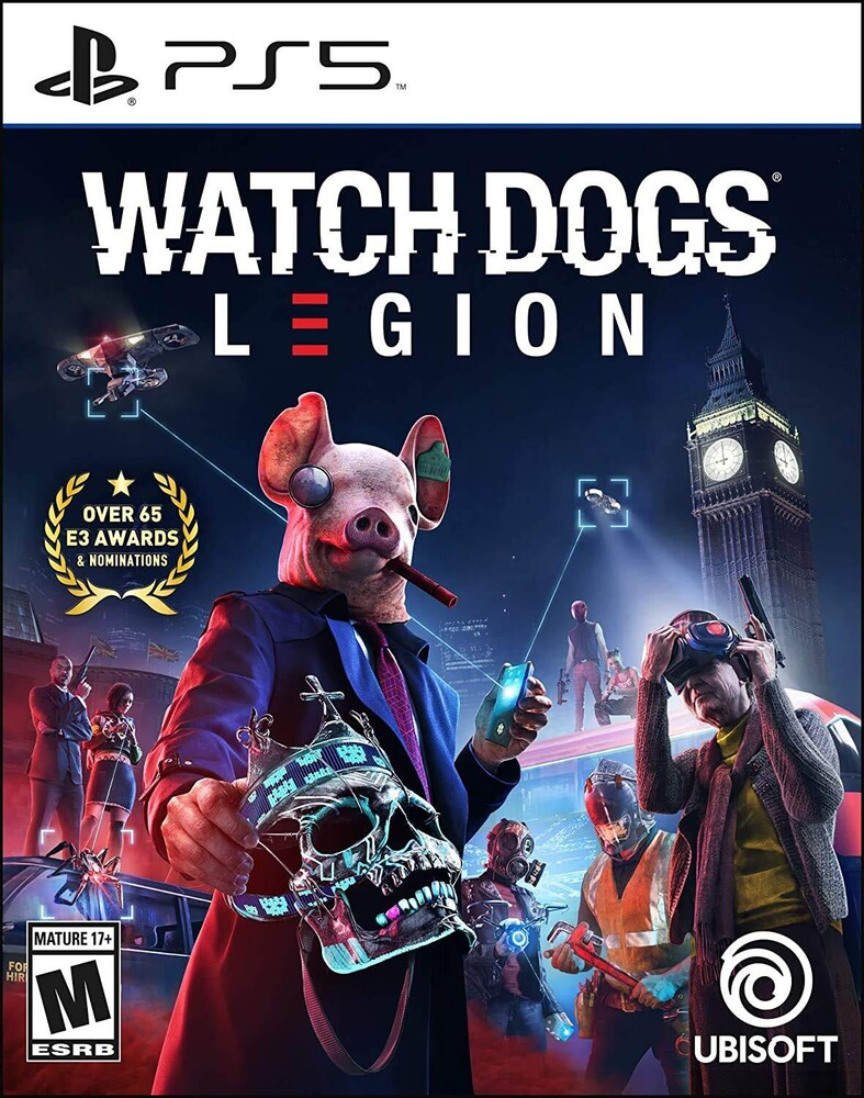 Ps5 Watch Dogs: Legion Limited Edition - Watch Dogs: Legion Limited Edition for PlayStation 5