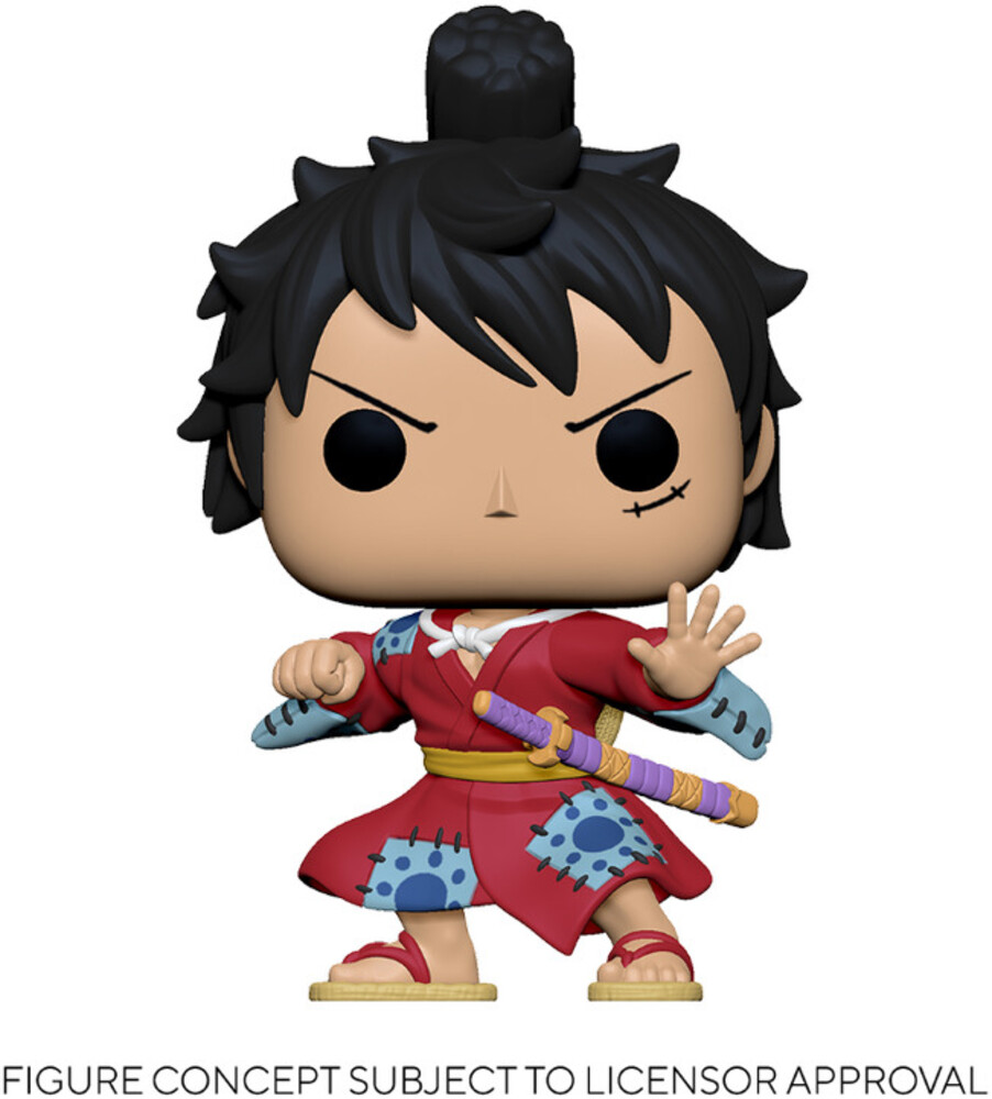 - FUNKO POP! ANIMATION: One Piece- Luffy in Kimono