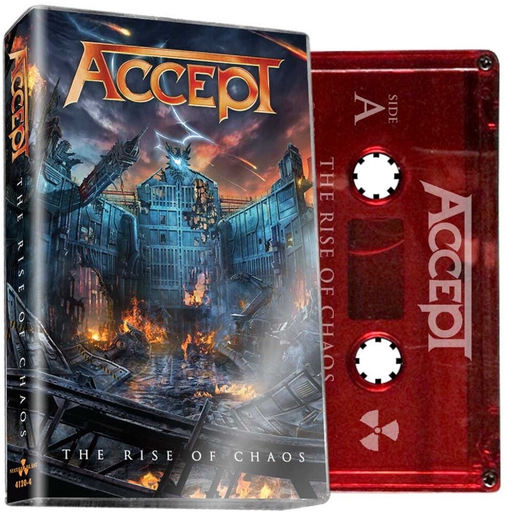 Accept - Rise Of Chaos [Limited Edition Red Cassette]