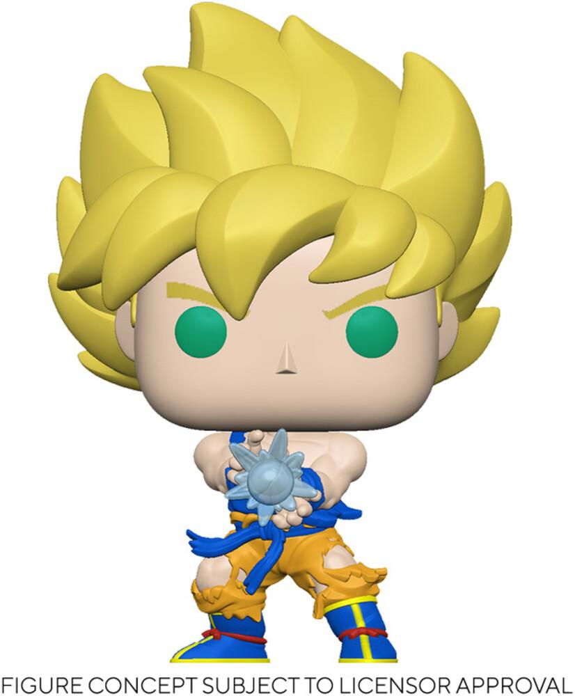 - FUNKO POP! ANIMATION: Dragon Ball Z - SS Goku w/ Kamehameha Wave