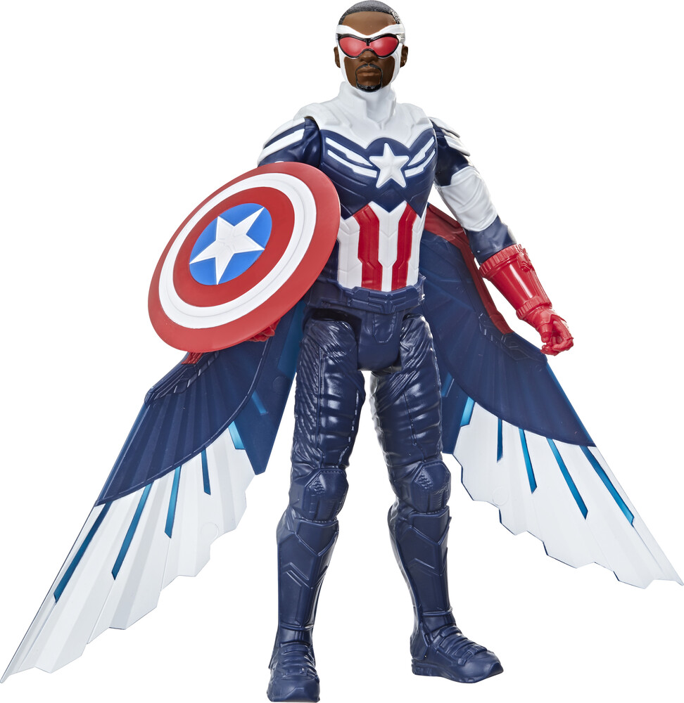Avn Mse Titan Hero Captain America - Hasbro Collectibles - Marvel Avengers Mse Titan Here Captain America