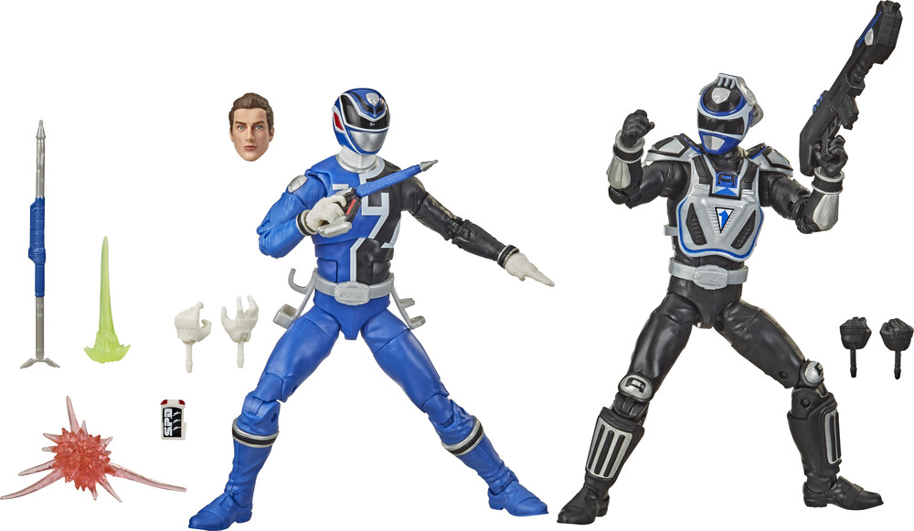 Prg Blt Rad Eartha V Earthb - Hasbro Collectibles - Power Rangers Lightning Collection S.P.B.B-Squad Blue Ranger Vs S.P.D. A-Squad Blue Ranger