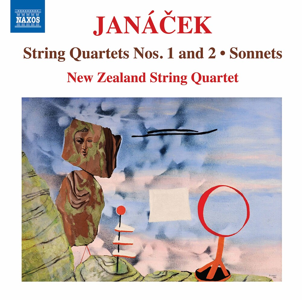 Janacek / New Zealand String Quartet - String Quartets 1 & 2