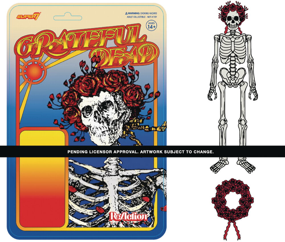 Grateful Dead Reaction Figure Wave 1 - Bertha - Super7 - Grateful Dead ReAction Figure Wave 1 - Bertha