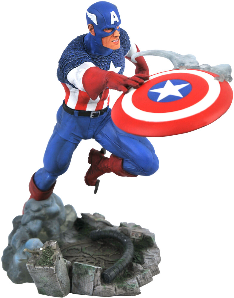 Diamond Select - Diamond Select - Marvel Gallery Vs Captain America PVC Statue