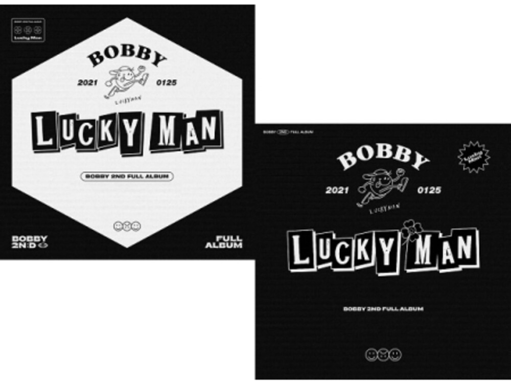 Bobby - Lucky Man (incl. 80pg Photobook, 32pf DIY Book , Sticker, Photocard, Folded Poster, Magnetic Coupon, 4pc Sticker Set, 4pc Postca