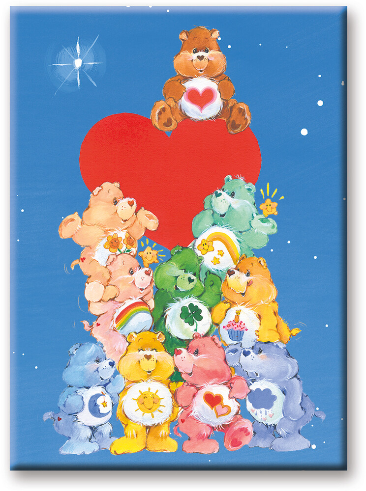 Care Bears Together 2.5 X 3.5 Flat Magnet - Care Bears Together 2.5 X 3.5 Flat Magnet