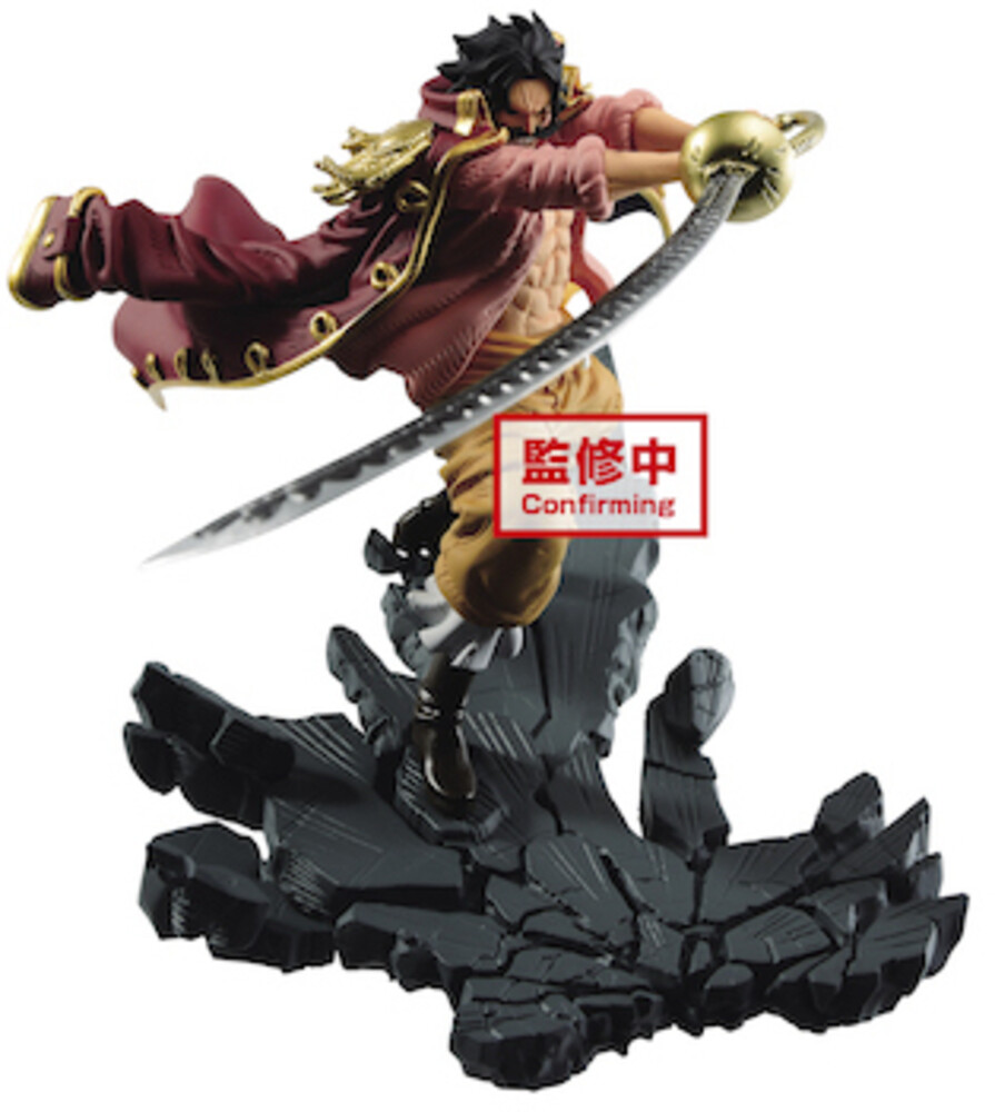 Banpresto - BanPresto - One Piece Manhood Gol.D.Roger Figure Version A