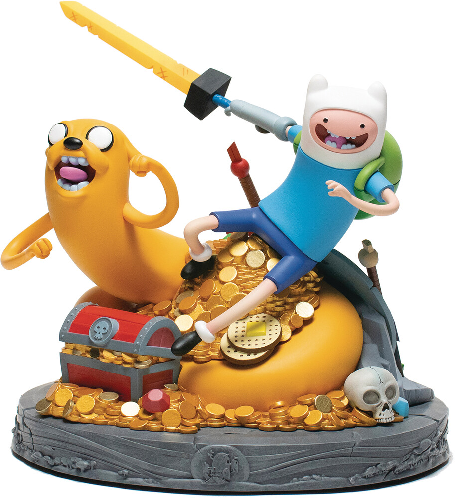Mondo Tees - Mondo Tees - Adventure Time Jake & Finn Statue (Net)