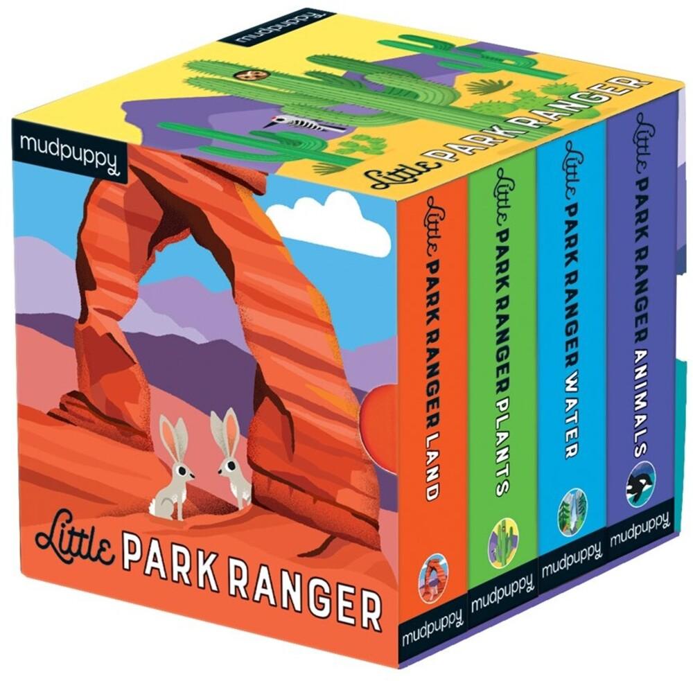 Erica Harrison - Little Park Ranger Board Book Set